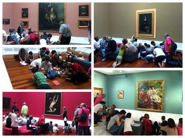 Detective en el museo valencia niños arte