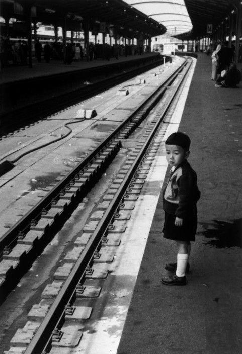Robert Capa  - Tokyo. April, 1954