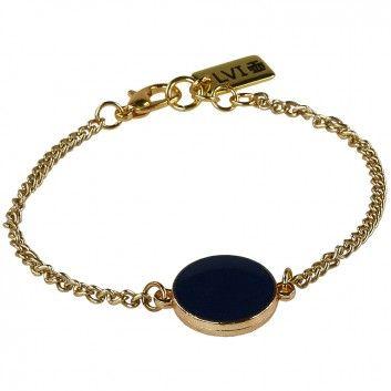 Mit diesem sehr eleganten und dezenten Armband vom Berliner Label Ludovika van Inkpen hast du ein hübsches Accessoire an deinem Handgelenk.