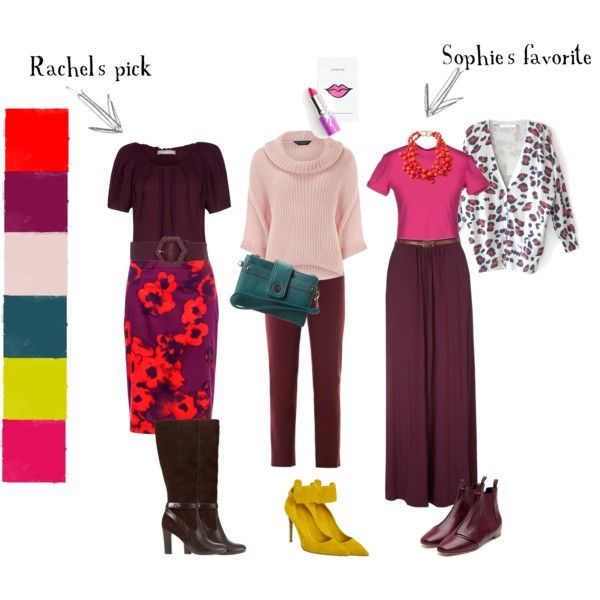 """Burgundy is the new black"" by stylemixers on Polyvore"