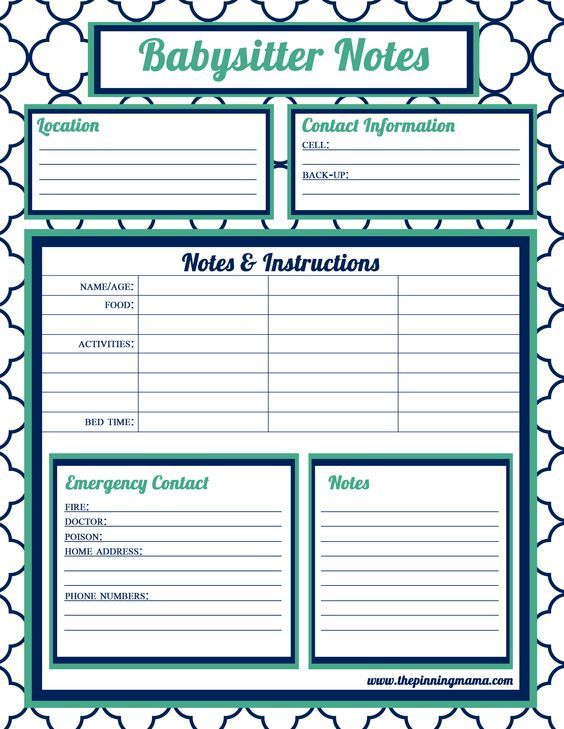 43 best Day care papers images on Pinterest Daycare forms - what is an daily incident reports