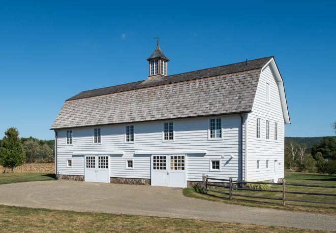 Gambrel Barn Frame | Post & Beam Construction