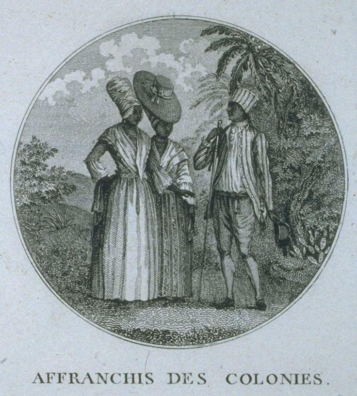 Free People of Color, Saint Domingue (St. Domingue, Haiti), late 18th centNW0150-b