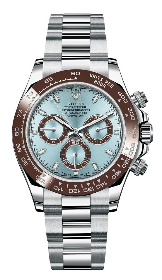 Is it us or is this new platinum rolex daytona super ugly rolex daytona baselworld2013 all for Tag heuer daytona