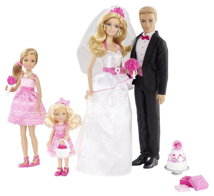 Amazon Barbie And Ken Wedding Set Toys Games