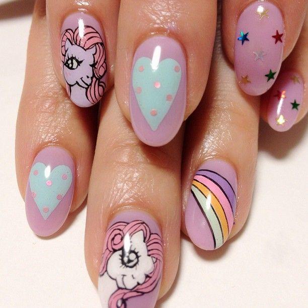 71 mejores imágenes de unhas com unicornio en Pinterest   Arte de ...