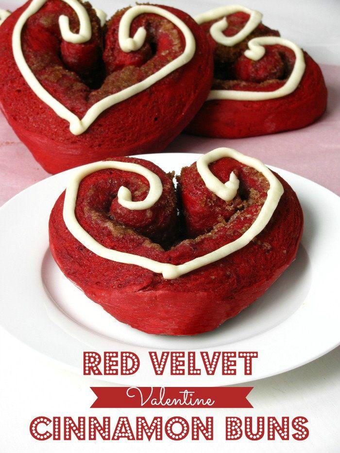 Red Velvet Cinnamon Buns   A Sweet Baker