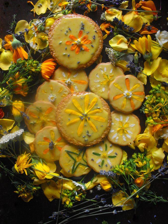 Sweet Magic:  Summer Solstice Honey Cookies | gather