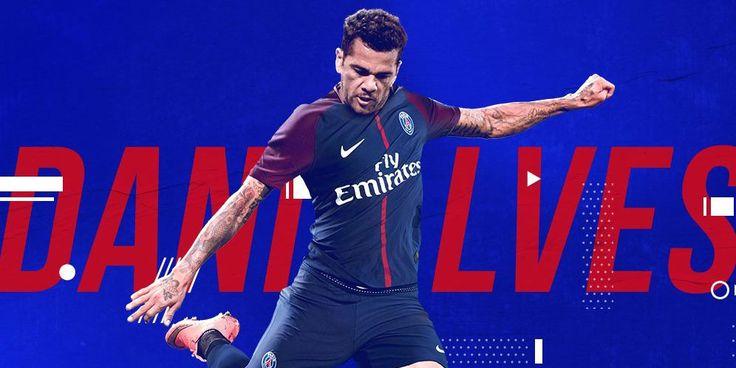 Dani Alves Resmi Bergabung Dengan Paris Saint Germain