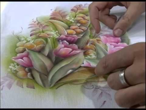 Café com Arte - Técnicas de pintura em Tecido
