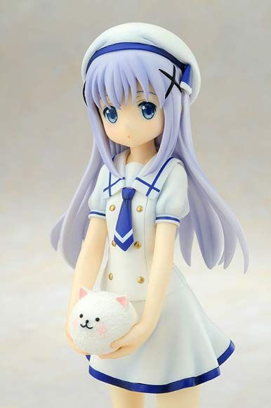Chino 1/7 Figure Summer Uniform ~ Is the order a rabbit? $110.00 http://thingsfromjapan.net/chino-17-figure-summer-uniform-is-the-order-a-rabbit/ #is the order a rabbit #kawaii #anime