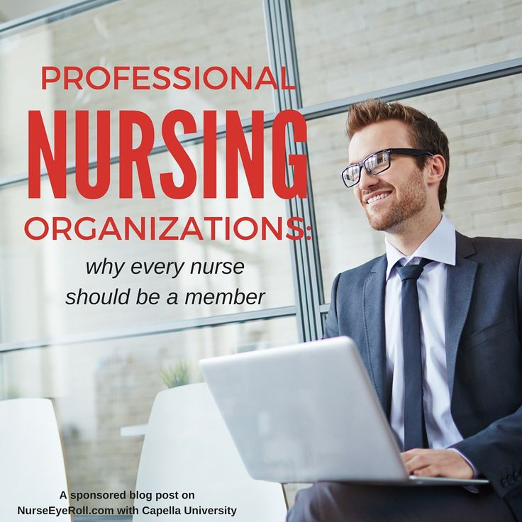 Info about professional organizations for nurses