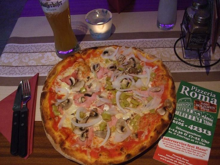 Pizza Roma in Walldorf, Germany near Frankfurt