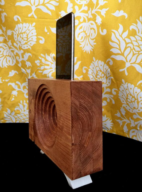 Wooden Acoustic Amplifier and Passive Speaker for by MWcraft