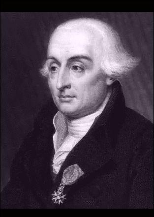 Joseph-Louis de Lagrange, mathematician and astronomer.