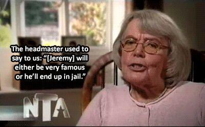 Good old Mrs Clarkson!!