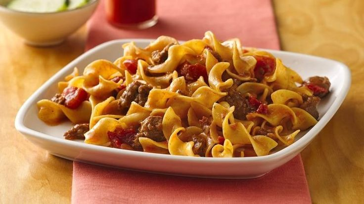 ... Chorizo and Pasta // slightly spicy but very good and easy to throw