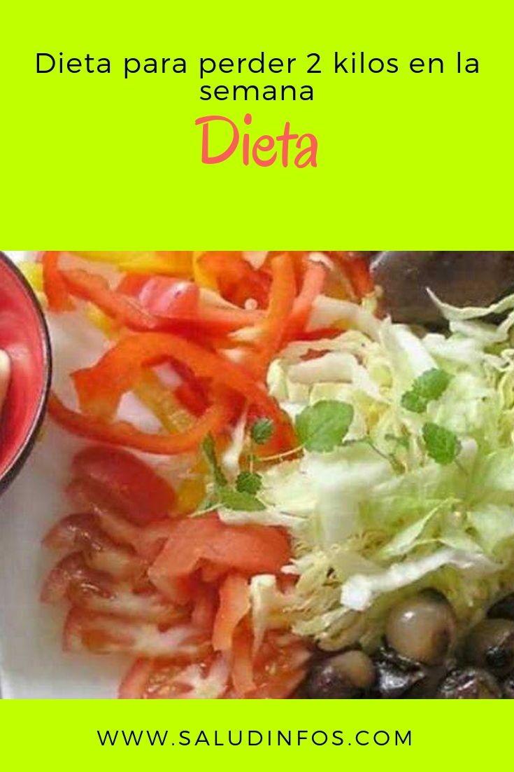 dieta adelgazar 2 kilos
