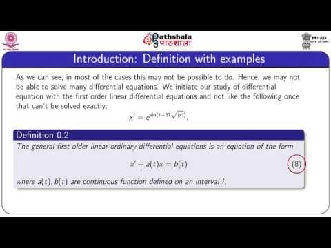 NRK ACADEMY: FIRST ORDER ORDINARY DIFFERENTIAL EQUATIONS : LINE...