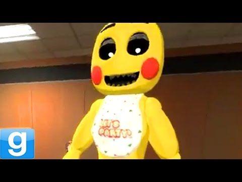New Playable Animatronics Gmod Five Nights At Freddy S