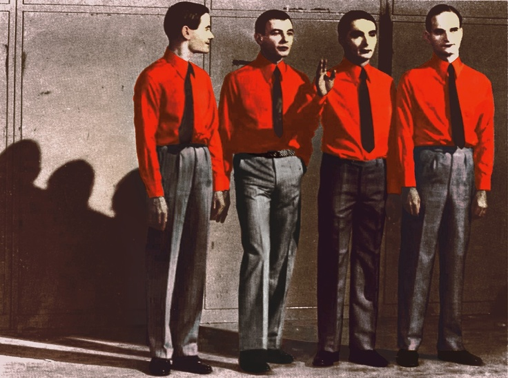Kraftwerk... I found out I had been a fan since I was 8 years old.