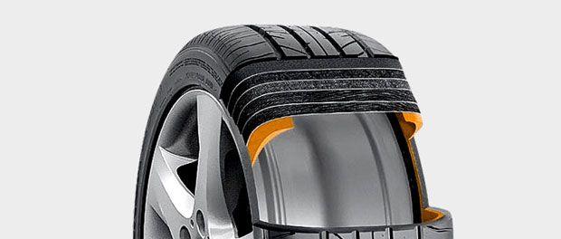Proiectate pentru a permite deplasarea autovehicului chiar si dupa ce roata a fost intepata, anvelopele run-flat ofera mai multa siguranta, dar elimina si necesitatea rotii de rezerva...