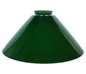 Green Italian Glass 2 1 4 Quot X 10 Quot Cone Light Shade