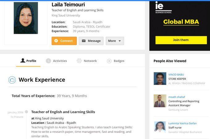 موافق فواز الرويلي On Twitter Skills To Learn Work Experience Education