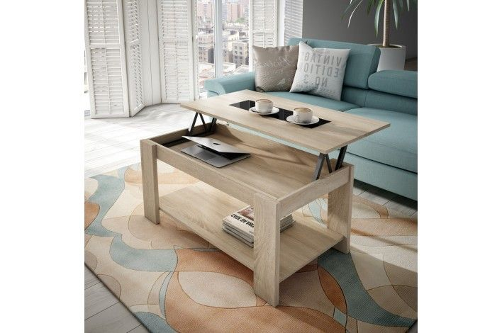17 mejores ideas sobre mesa elevable en pinterest mesa - Mesa salon elevable ...