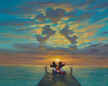 Mickey Mouse - Waiting for the Moment - Walfrido Garcia - World-Wide-Art.com