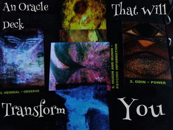 The #Norse #gods and #goddesses @Oracle Corporation deck. For sale. First edition. #Fantasy