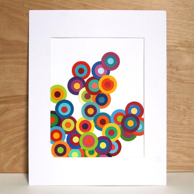 457 best images about paint chip crafts on Pinterest