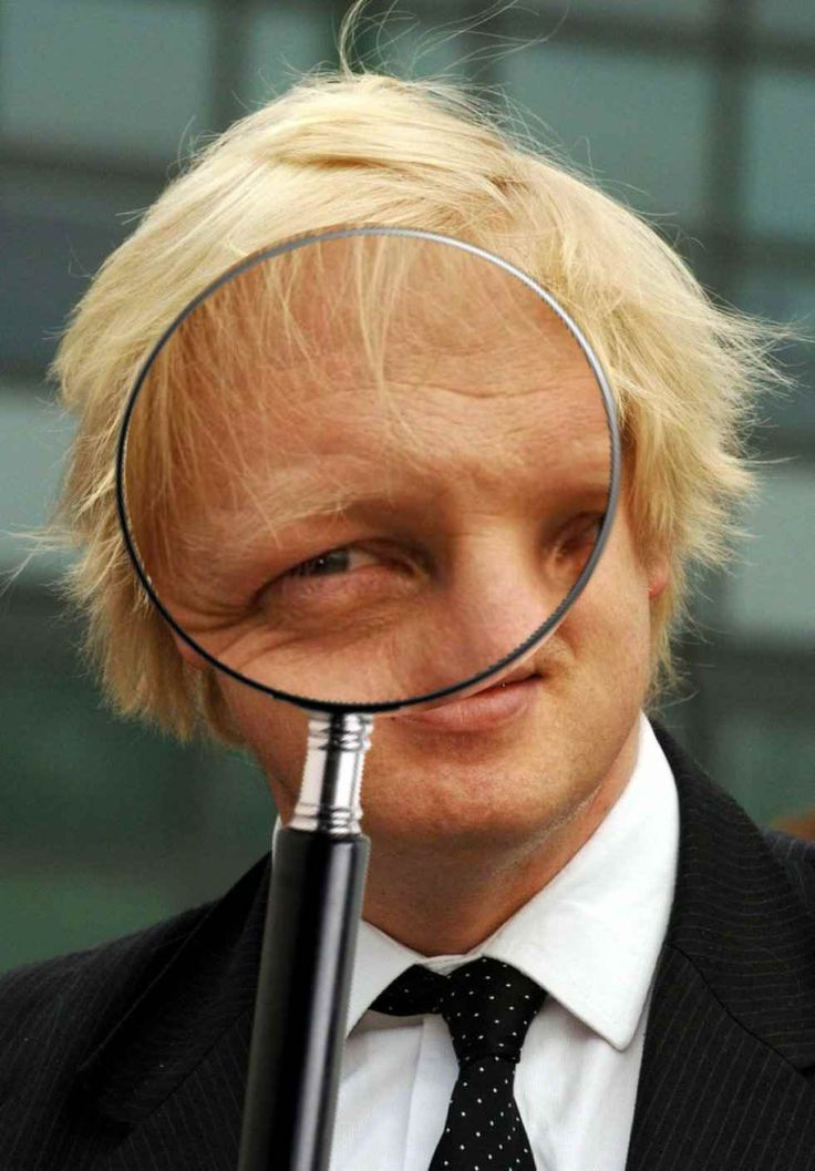 Boris magnified