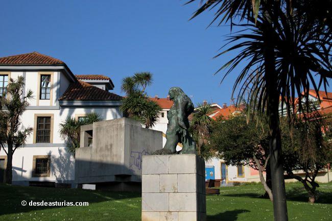 Museo Antón de Escultura #Candás Asturias. Museos de Asturias [Más info] http://www.desdeasturias.com/museo-anton-de-escultura/