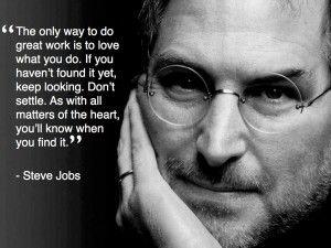 Steve job career quote