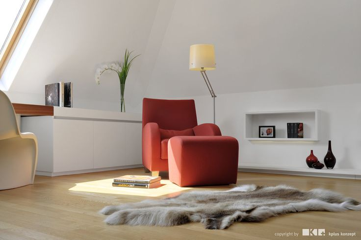 Attic S - Interior by kplus konzept - Photo by kratz photographie