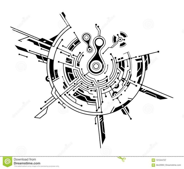 Photograph about Circuit board graphic idea remoted on white. Illustration of tec