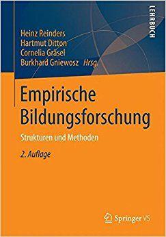 Empirische Bildungsforschung: Strukturen und Methoden, 2.Auflage