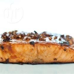 Salmon with Caramelised Onions @ allrecipes.com.au