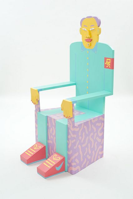 Chair Man Mao | Flickr - Photo Sharing!