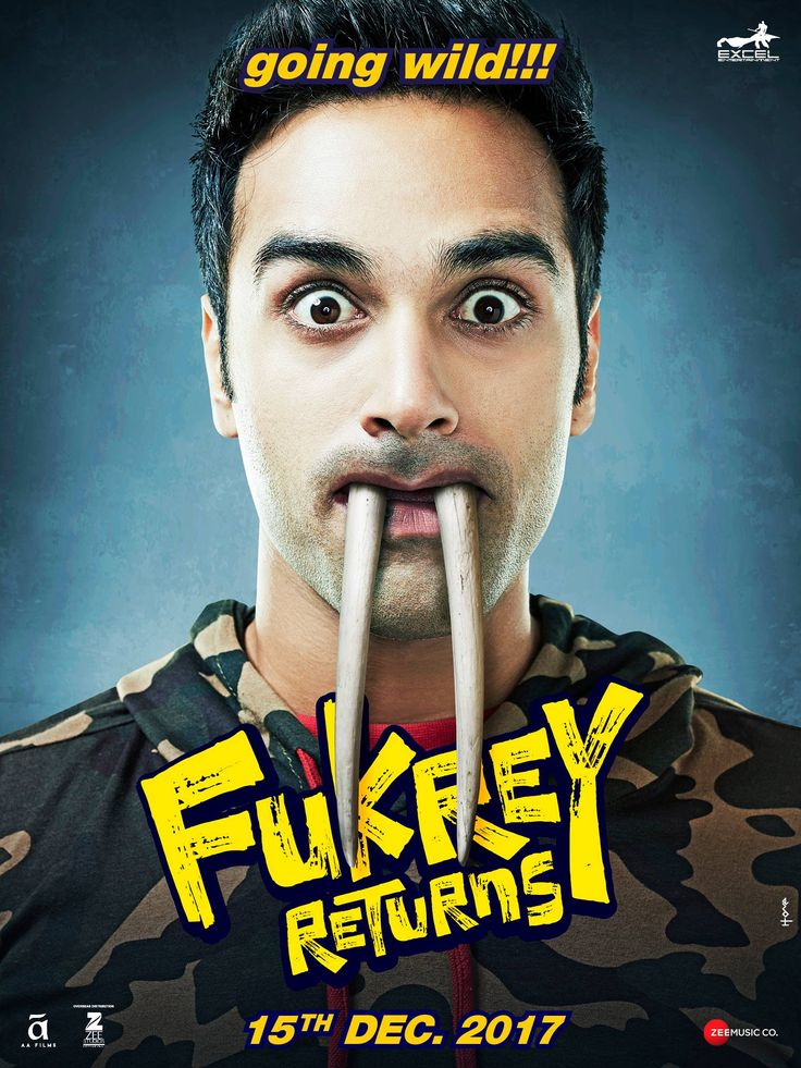 Fukrey Returns Official Poster | Pulkit Samrat, Varun Sharma, Richa Chadha, Ali Fazal, Manjot Singh | Directed by Mrighdeep Singh Lamba | Movie Releasing on 15th December 2017. #FukreReturns #PulkitSamrat #VarunSharma #RichaChadha #AliFazal #ManjotSingh #MrighdeepSinghLamba #ExcelEntertainment #ZeeStudios #ZeeMusicCompany