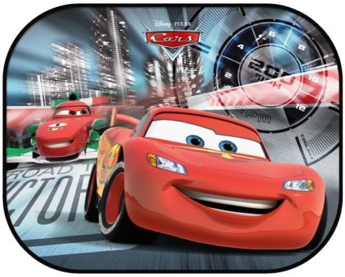 details about 2 disney pixar cars kids baby children car window uv protection mesh sun blinds