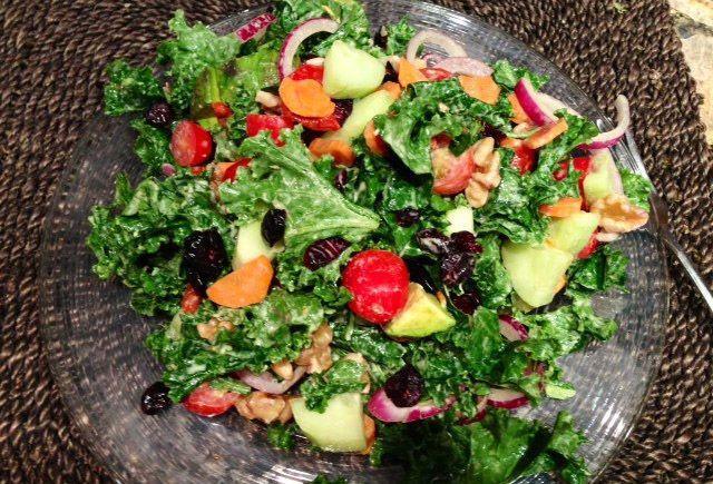Hail to Kale Salad