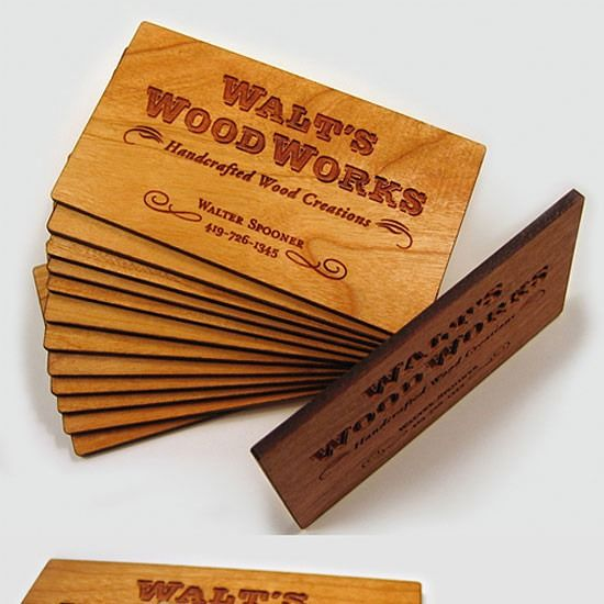 60 best 60 classy wood business cards to make a memorable in name card bng g tt nht v l nht reheart Images