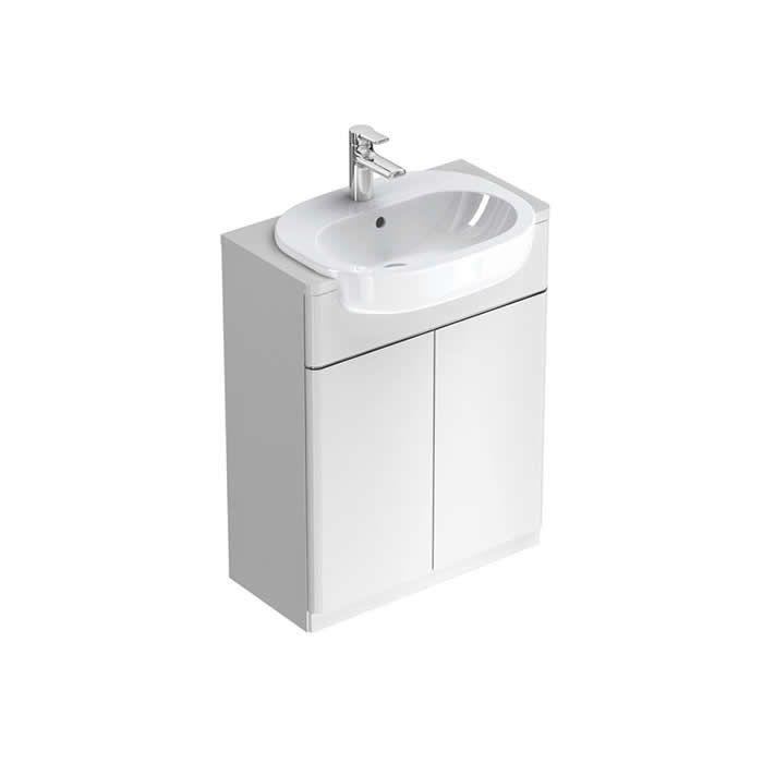Ideal Standard SoftMood 650mm Semi Countertop Basin Unit