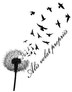 """Alis volat propriis is Latin for  """"She Flies With Her Own Wings"""""""