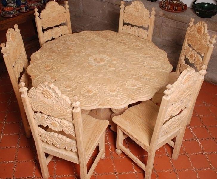 Carved Wood By The Artisans Of Michoacan Mexico