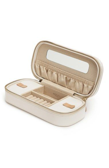 Free shipping and returns on WOLF 'Chloe' Zip Jewelry Case at Nordstrom.com. A slim zip-around case channels striking vintage sophistication with medallion cutouts and smooth leather composition, while the anti-tarnish LusterLoc lining keeps your jewelry looking its best.