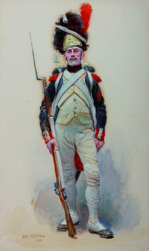 Grenadier a pied de la garde imperial