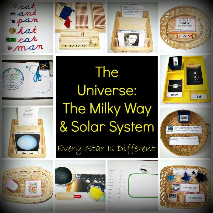Every Star Is Different: The Universe: The Milky Way & Solar System
